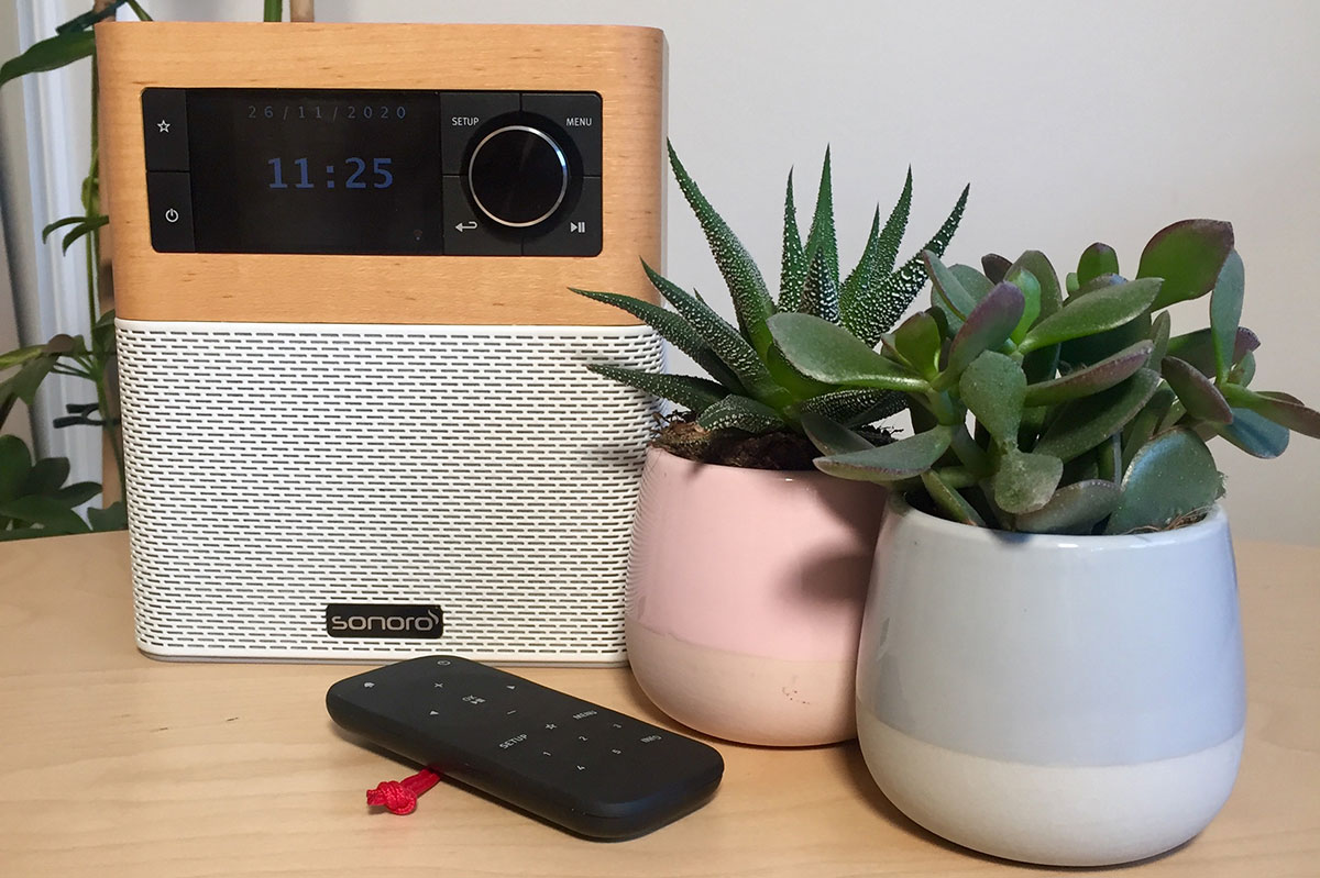 Sonoro STREAM : Poste de radio WiFi, FM et DAB avec réception Bluetooth