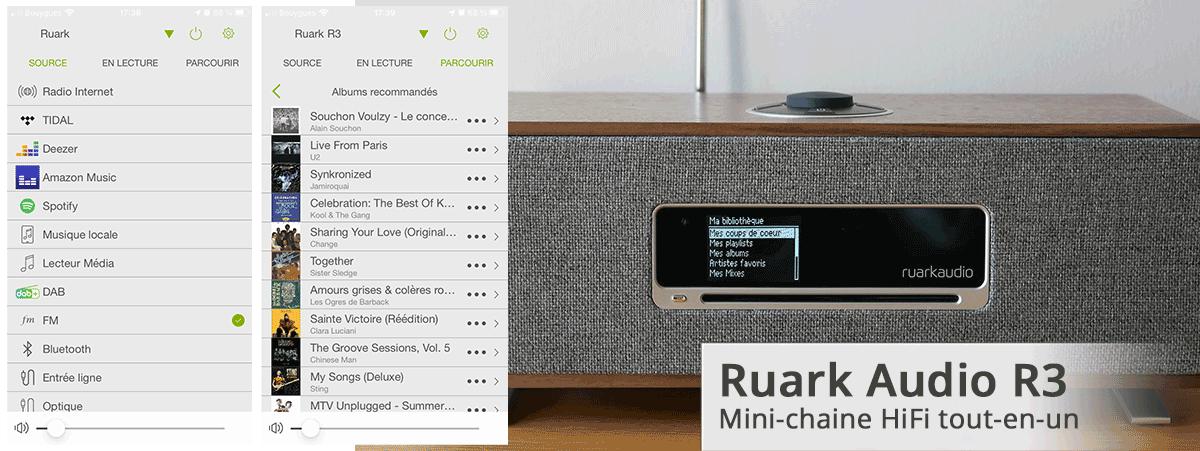 Test et achat de la mini chaînes HiFi connecté Ruark Audio R3