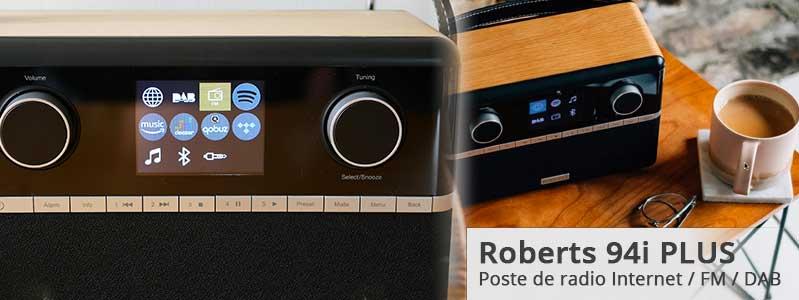 Achat et test du poste de radio Roberts Stream 94i PLUS
