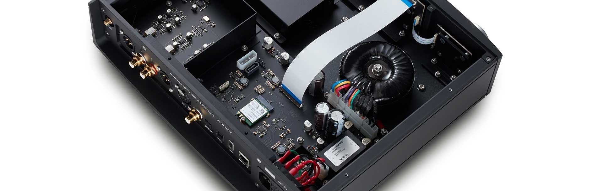 Conception et architecture HiFi pour un lecteur réseau audio haut de gamme