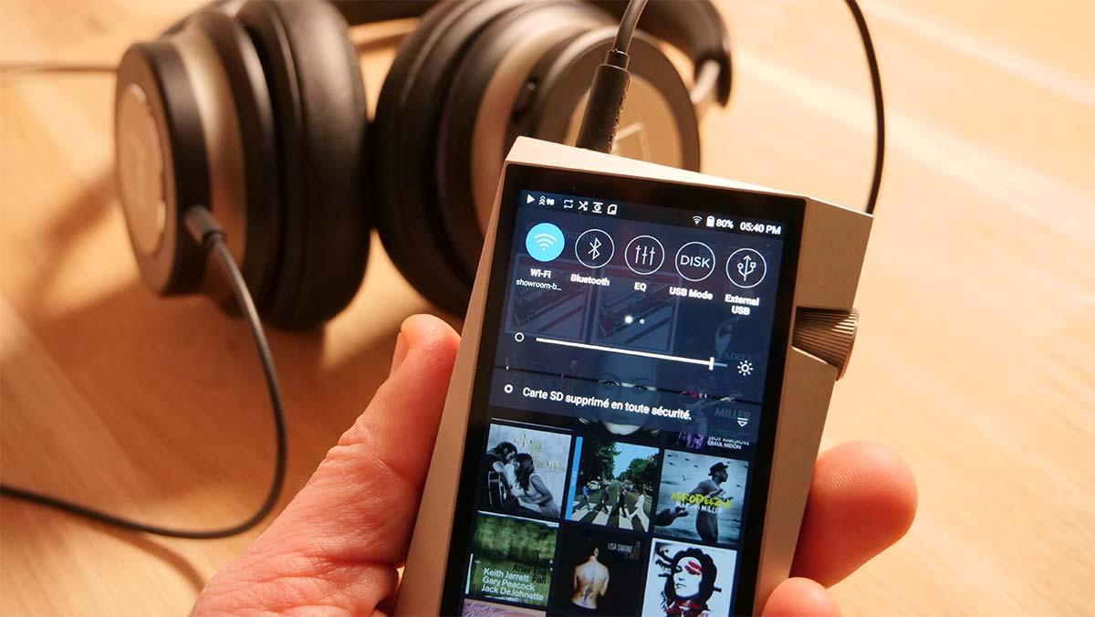 Connexion au réseau WiFi pour l'écoute d'une plateforme musicale : Deezer, Qobuz, Tidal, Spotify, etc
