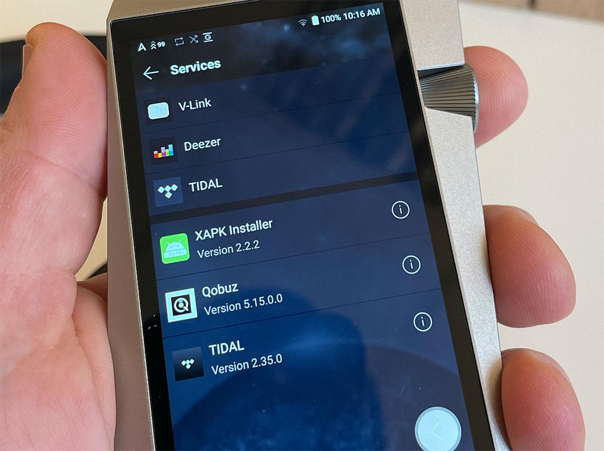 Un baladeur audio de qualité HiFi sous Android 9 en version optimisée et ouverte