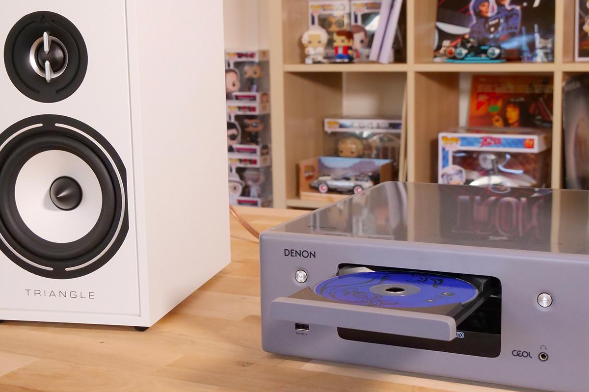 L'ampli Denon CEOL N11 avec son lecteur de CD