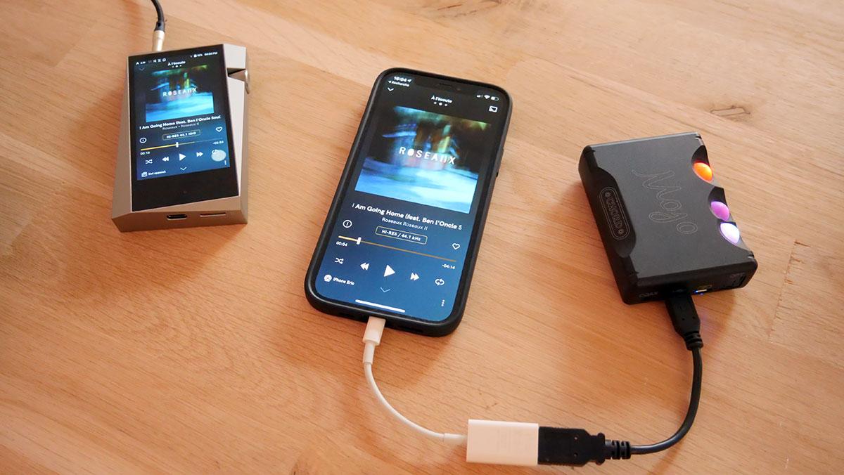 Comparer et choisir entre le baladeur HiFi tout-en-un et le smartphone avec un DAC audio nomade