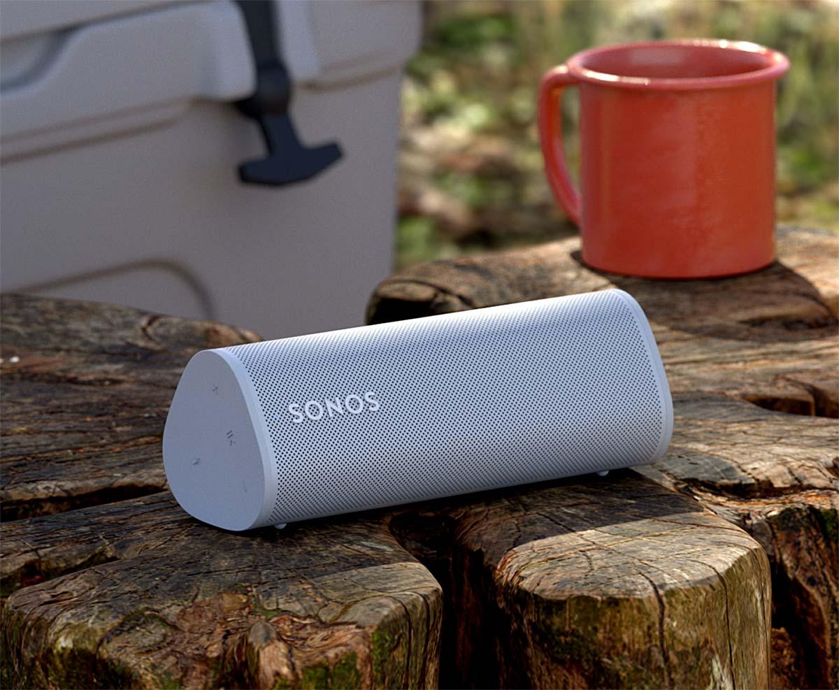 Sonos Roam, une enceinte connectée AirPlay 2 très compacte, sur batterie et proposé à seulement 179 €
