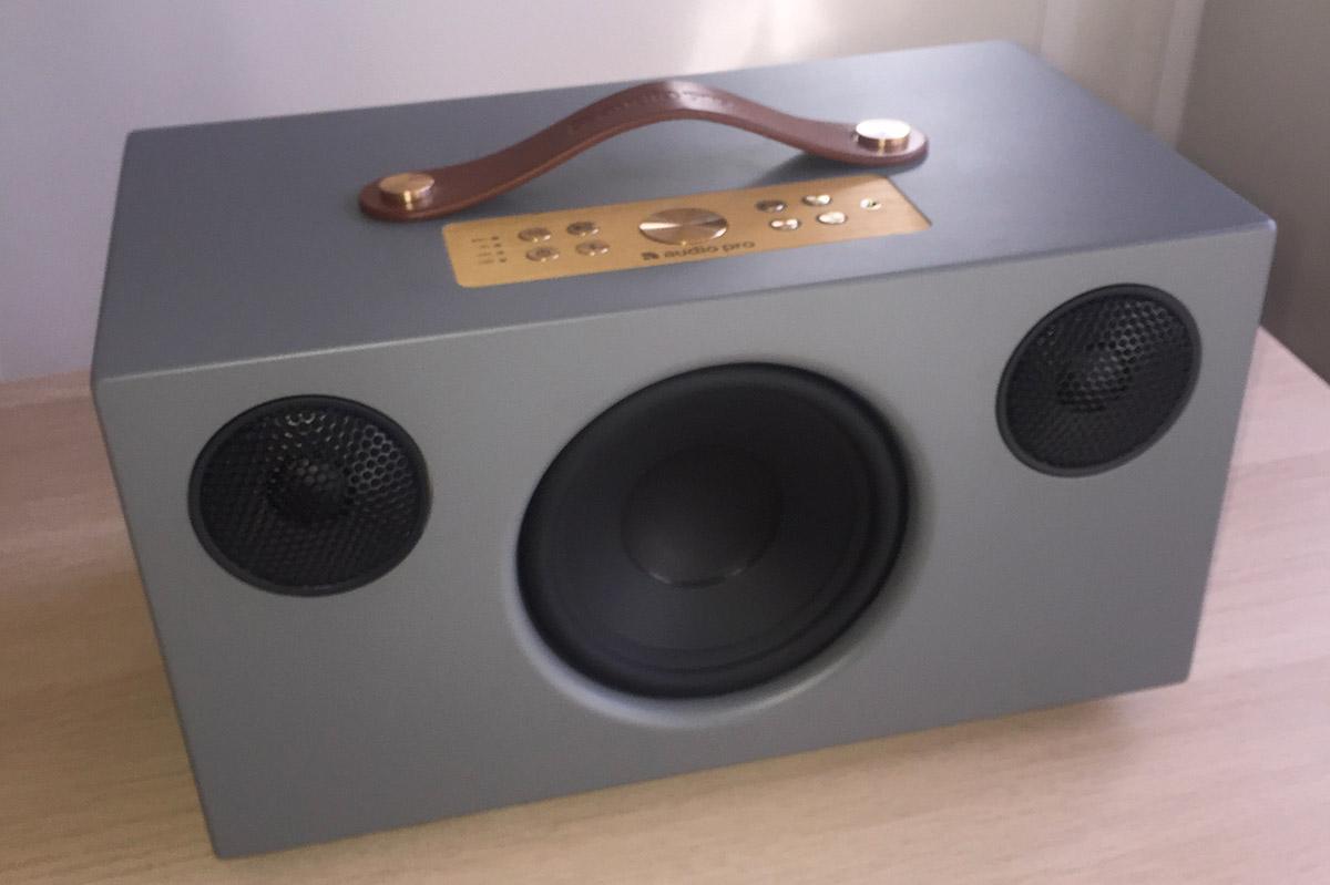 L'enceinte puissante Audio Pro Addon C10, idéale pour les grandes pièces de la maison