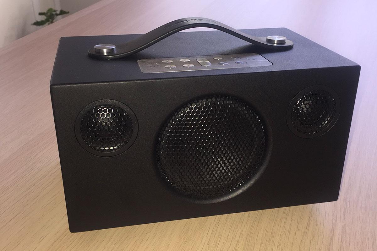 L'enceinte Audio Pro Addon C3, compacte et nomade avec batterie intégrée