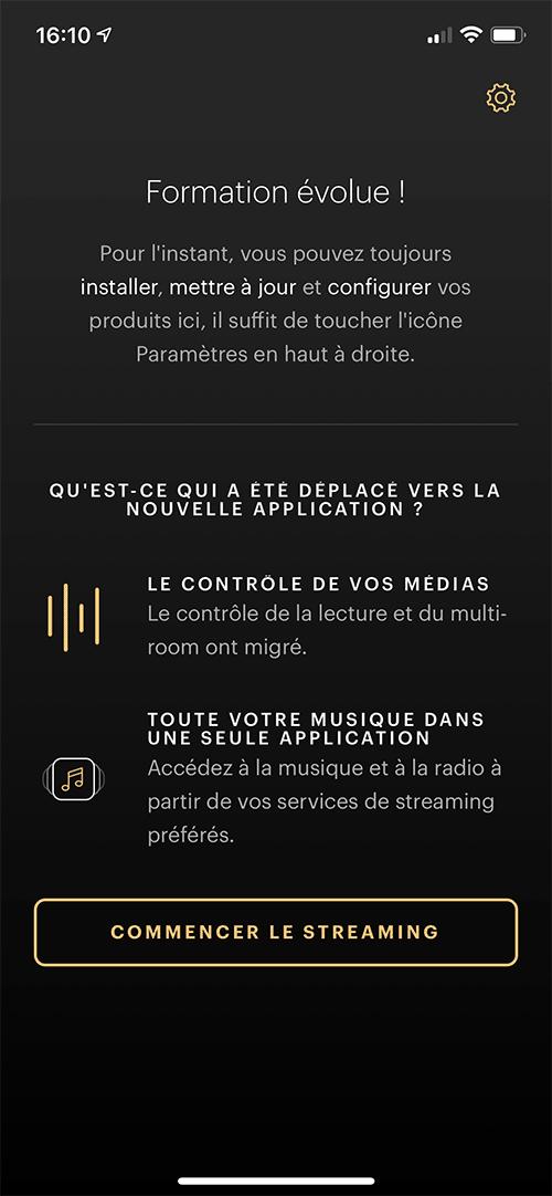 """L'application nous informe des fonctions de l'application """"Music"""" : gestion des services musicaux et bien sûr le contrôle de la lecture : choix des musiques, lecteur, pause, volume, etc."""