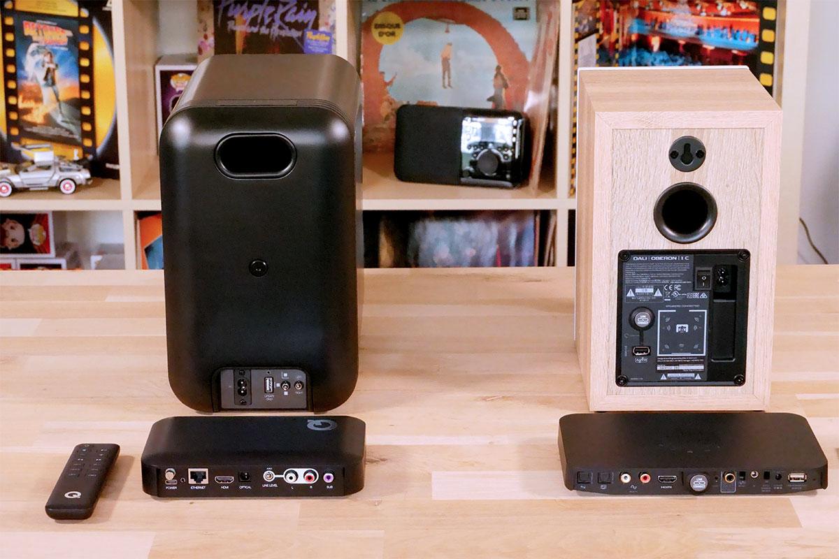 Comparer les deux solutions d'enceintes HiFi sans fil de Dali et Q Acoustics