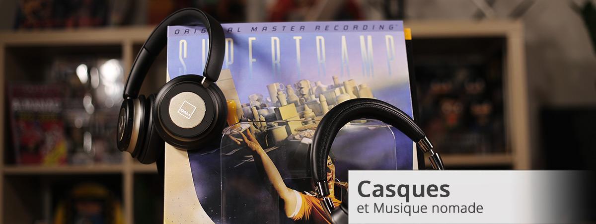 Casque et musique nomade