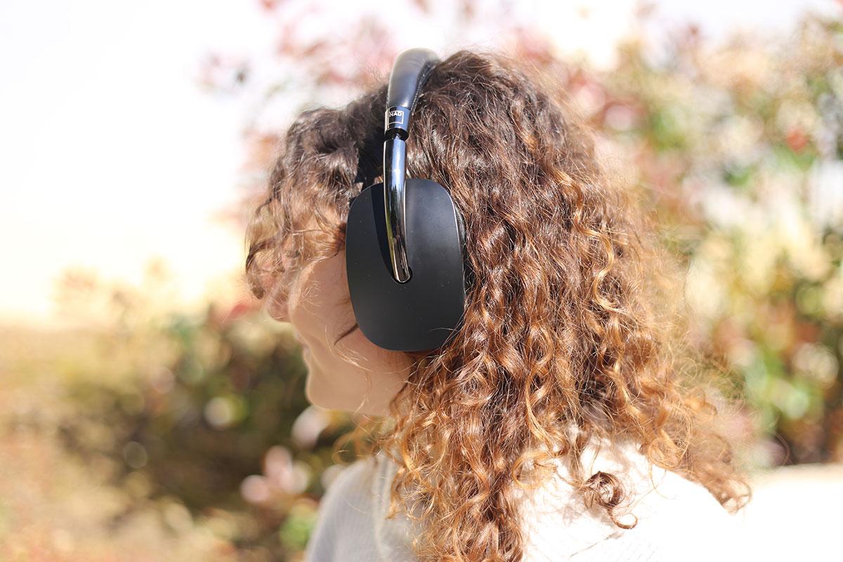 nad-hp70 en écoute Bluetooth
