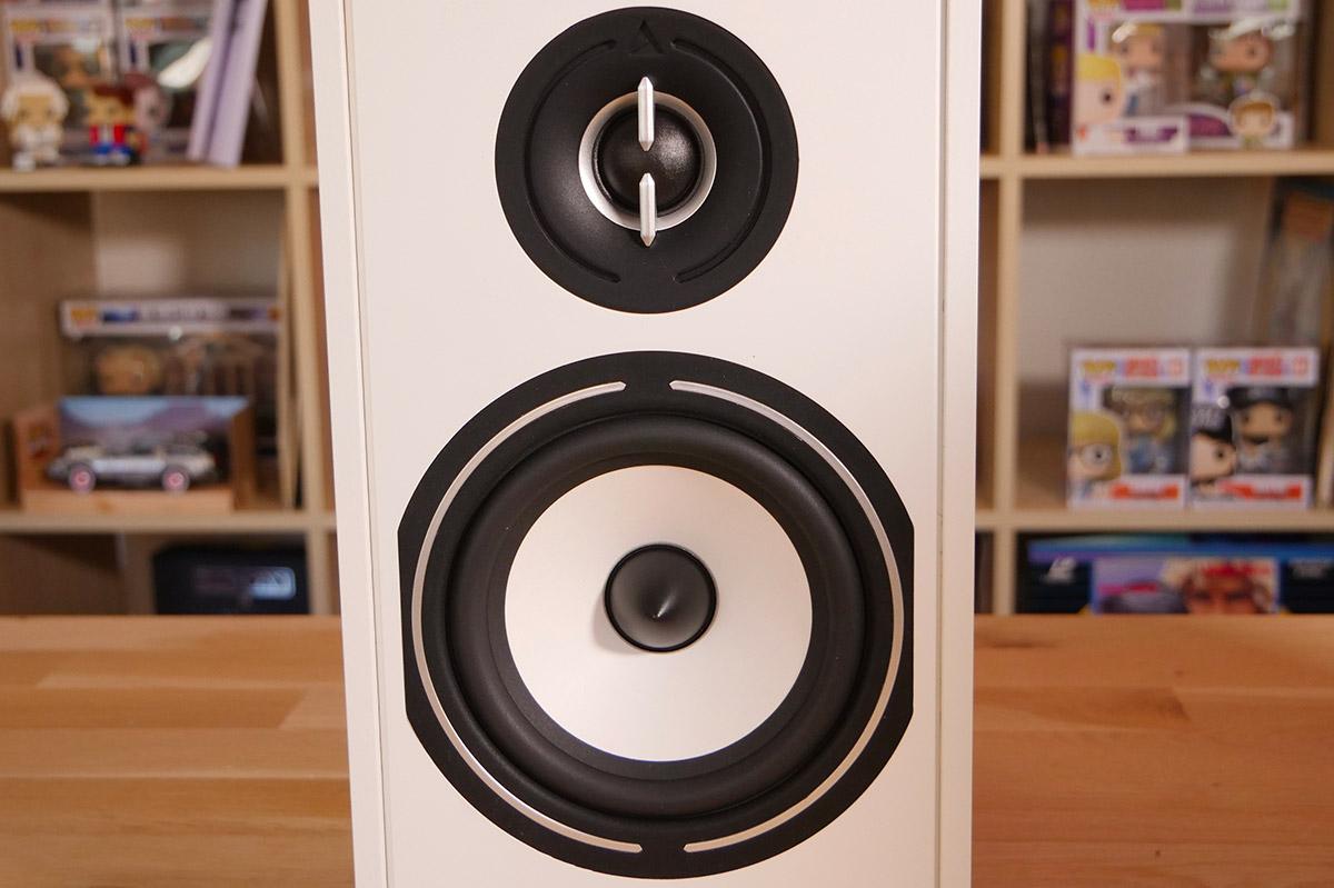 Haut-parleurs de 13 cm avec membrane en pulpe de cellulose