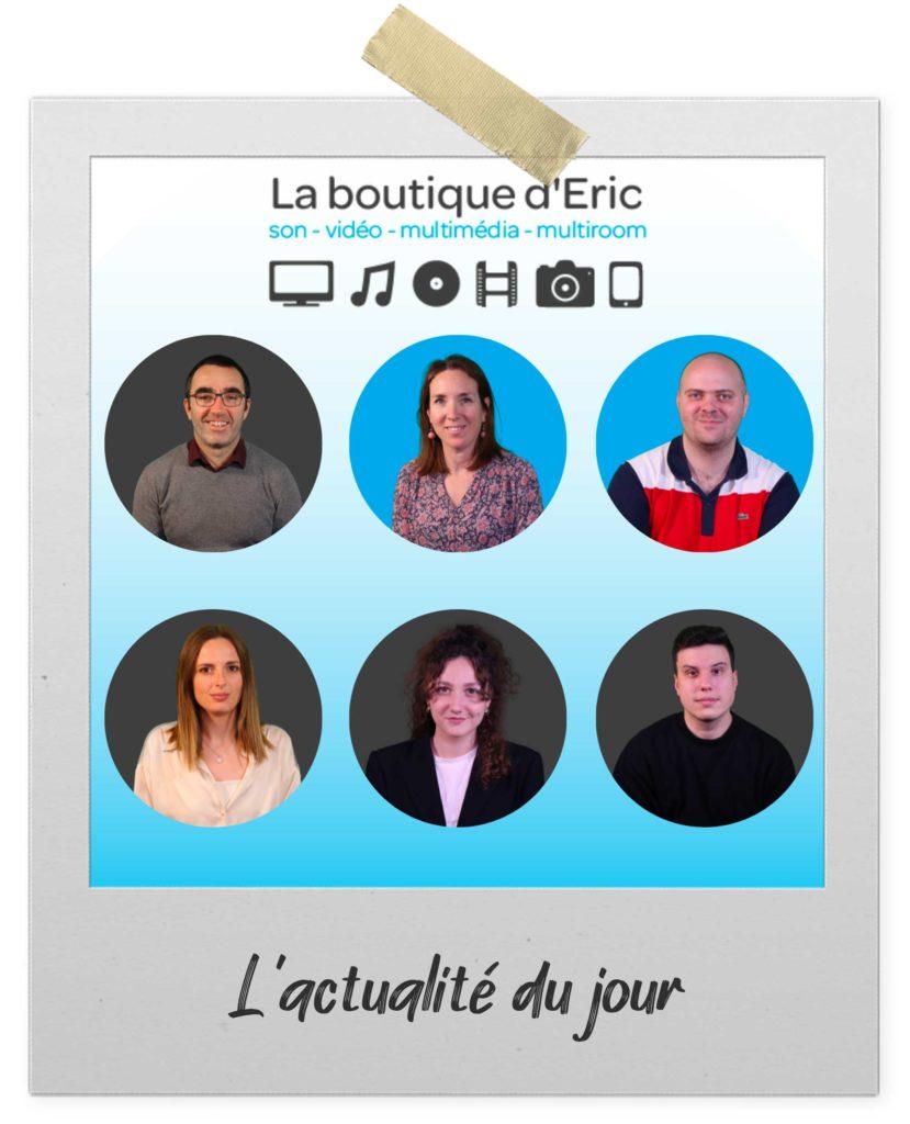 Découvrez l'équipe de La boutique d'Eric