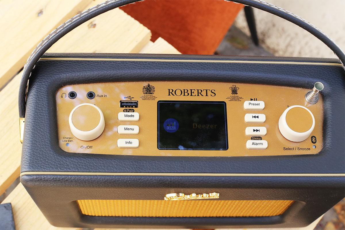 Roberts iStream 3 : poste de radio rétro vintage avec la technologie dernier cri