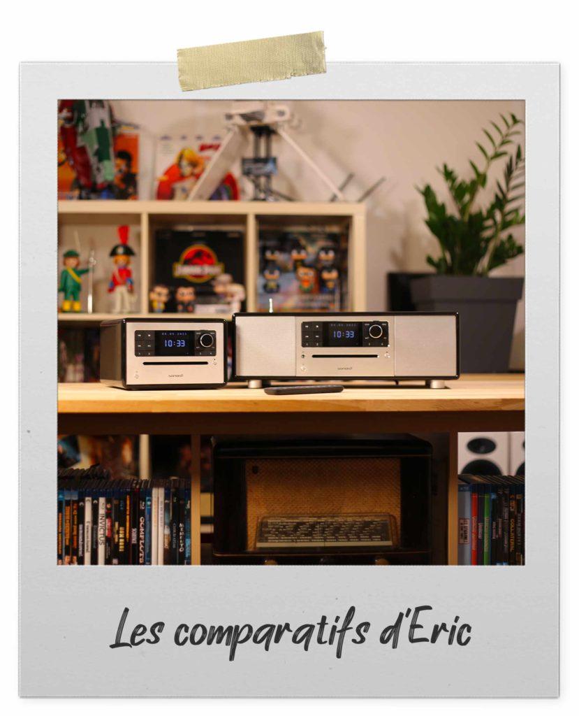 Comparer les postes de radio, chaînes HiFi et amplificateur HiFi Sonoro