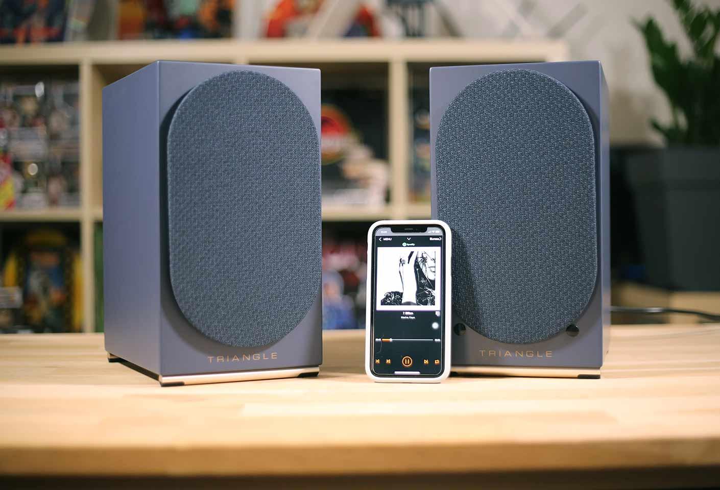Triangle AIO Twin : Enceintes connectée, WiFi, AirPlay, Bluetooth et multiroom