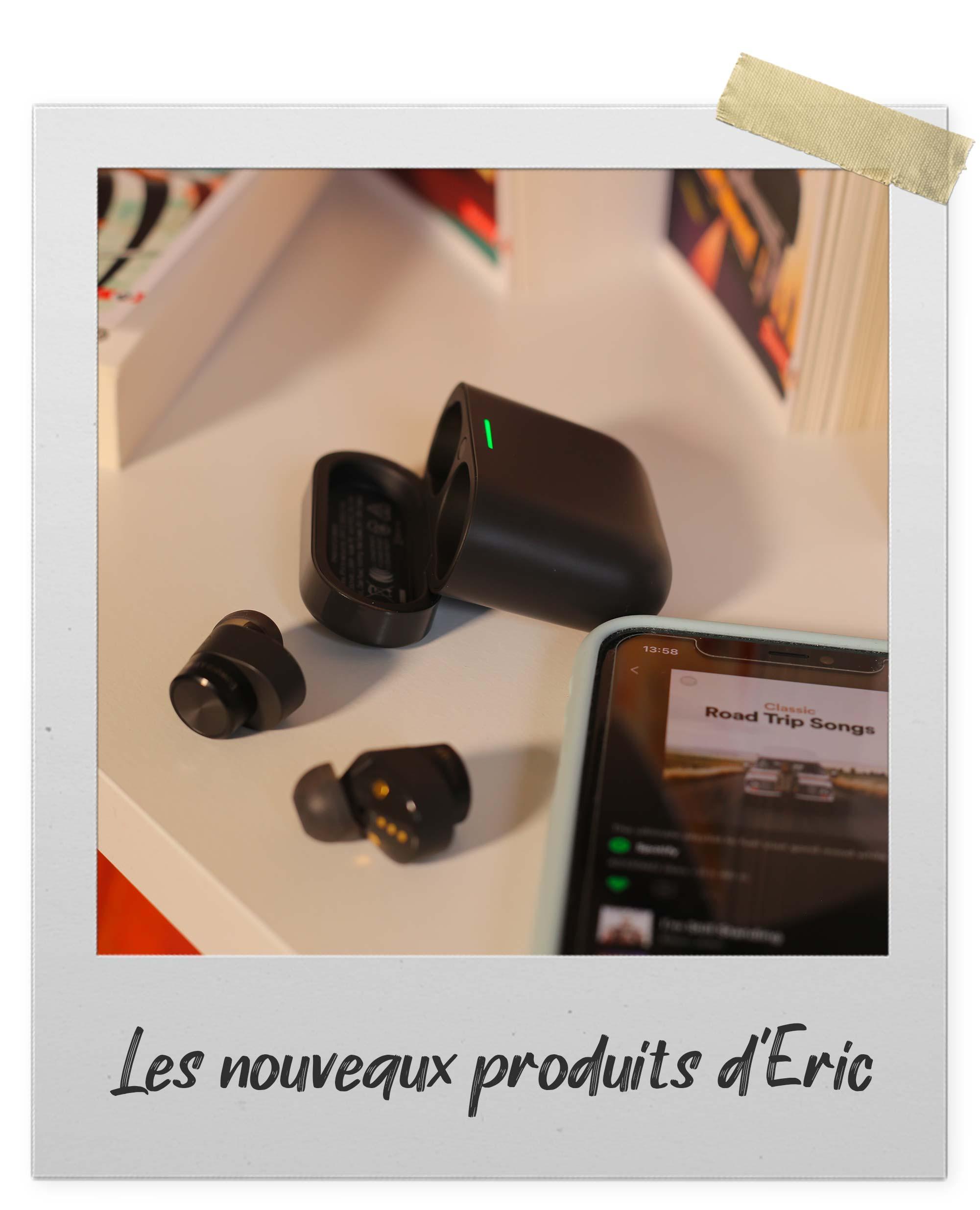 Écouteurs intra-auriculaires sans fil Bluetooth Bowers&Wilkins PI5 à réduction de bruit active