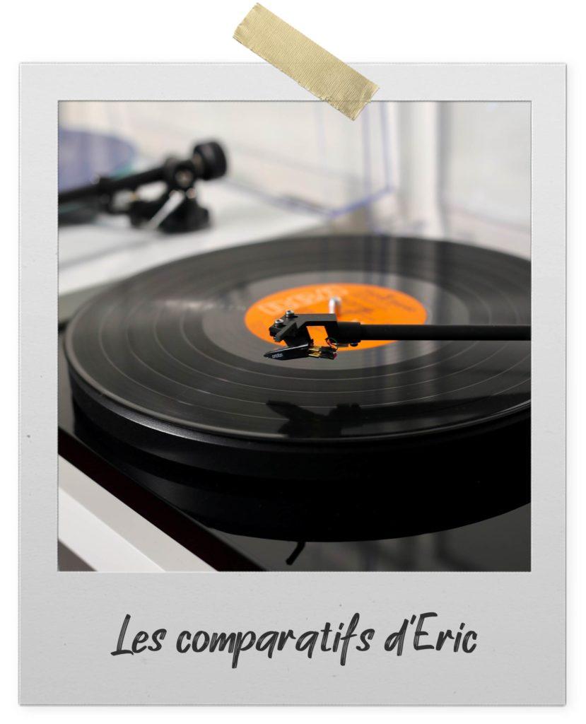 Comparez nos platines vinyles sur une sélection de critères