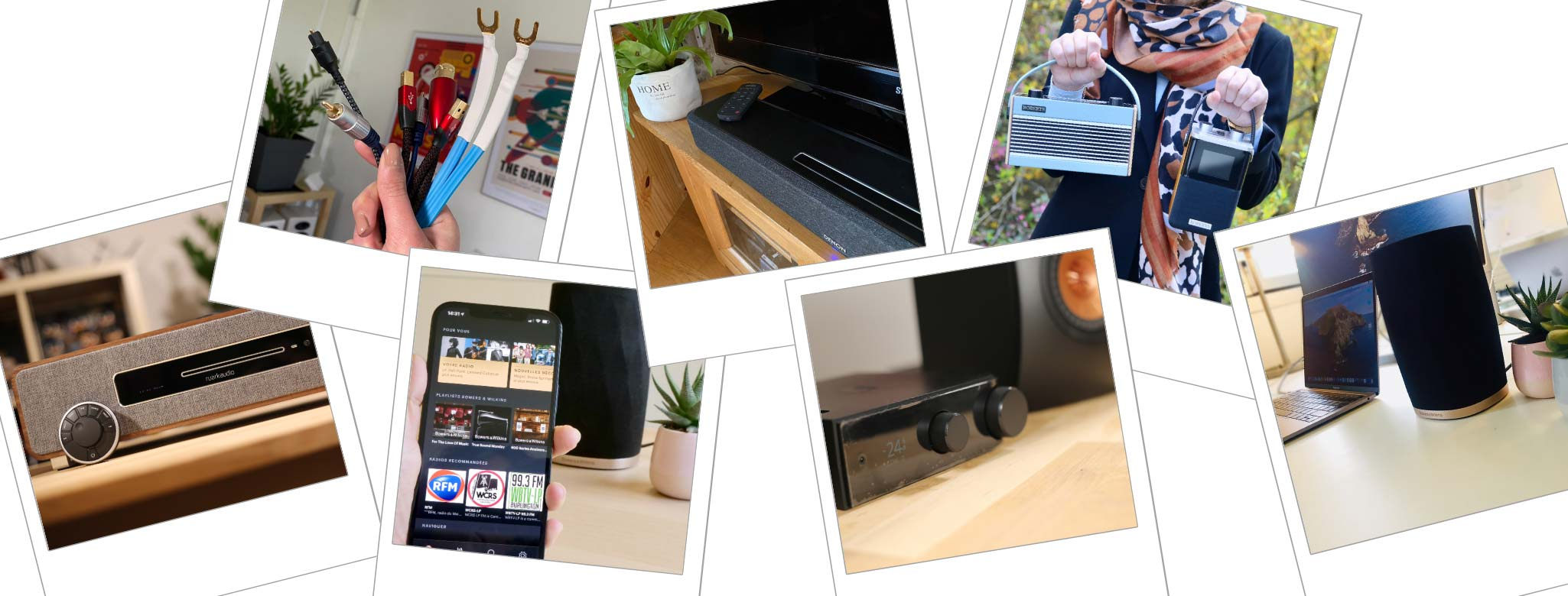 Ce que vous avez manqué sur nos réseaux : comprendre le câblage HiFi et audio-vidéo, choisir sa chaîne HiFi compacte Ruark Audio