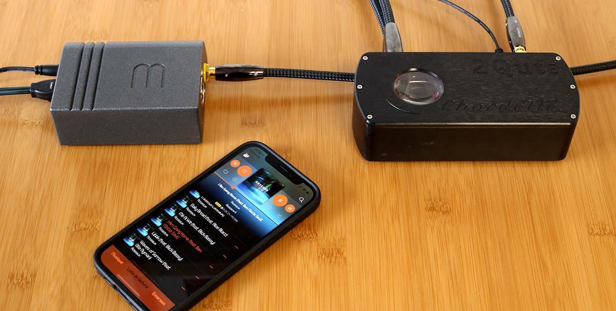 Le streamer Emerson DIGITAL de Wattson Audio avec un DAC Chord 2Qute