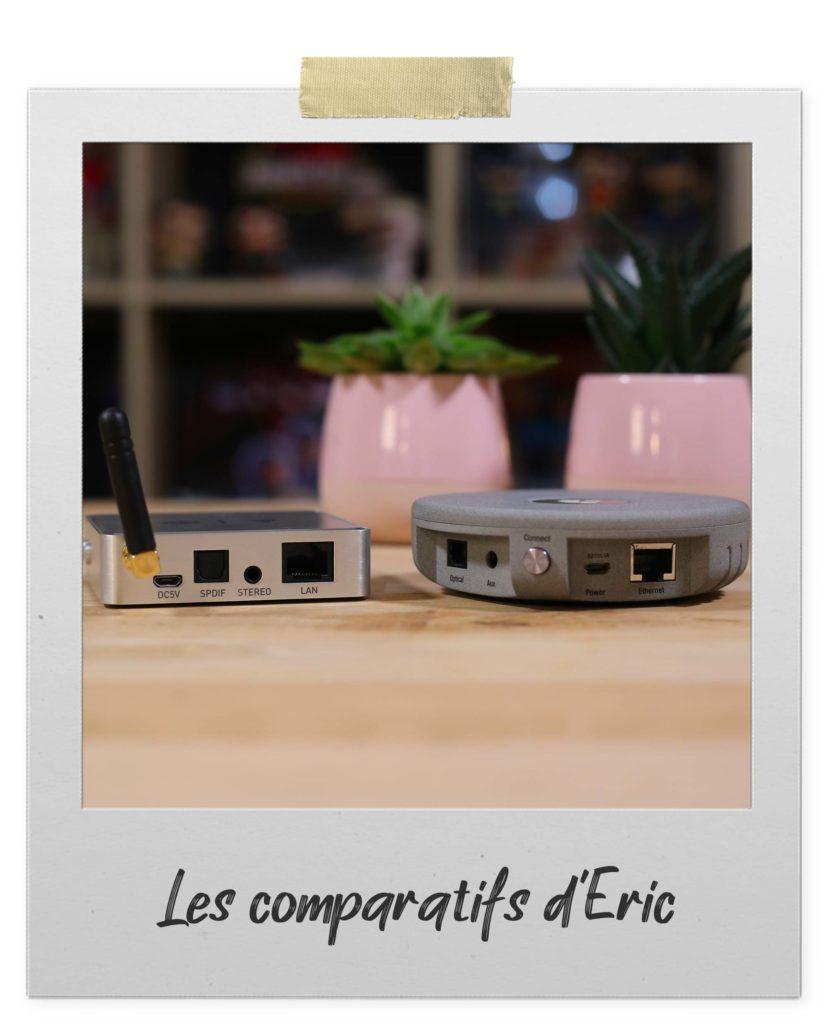 Récepteurs audio sans fil WiFi et AirPlay pour moderniser chaîne HiFi ou enceintes actives
