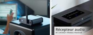 Émetteurs et récepteurs audio sans fil