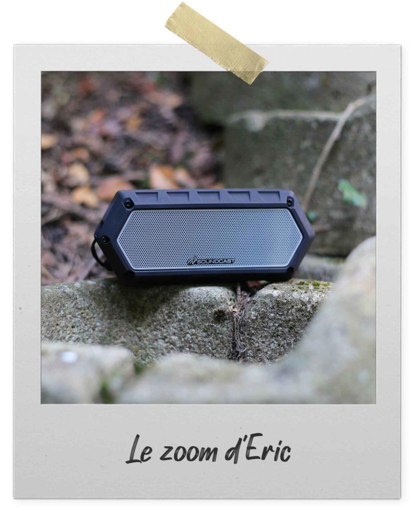 Soundcast VG1 : enceinte nomade étanche et robuste Bluetooth