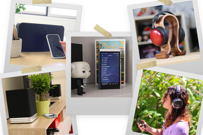 Ce que vous avez manqué sur nos réseaux : InnuOS ZENMini, application BluOS et casques HiFi pour la musique nomade