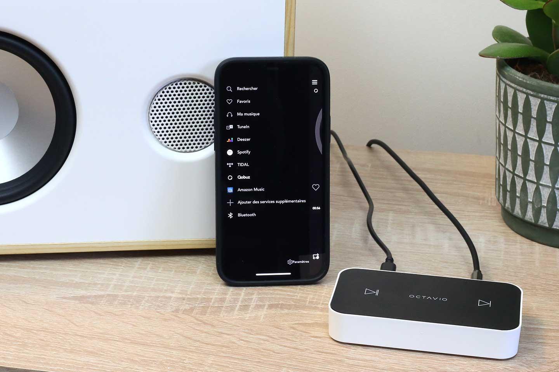 Moderniser une chaine HiFi en rajoutant un lecteur réseau audio compatible UPnP / DLNA et Bluetooth